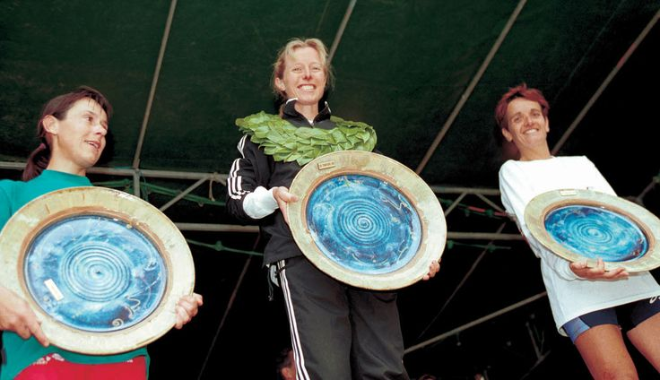 Gagnante du Grand Trail des Templiers 2002
