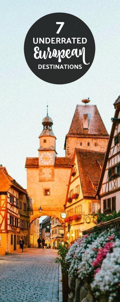 7 Underrated European destinations