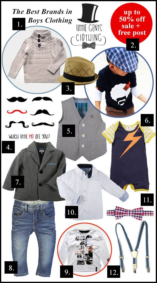 Little Gents Clothing : The Best Brands In Boys Clothing - Up to 50% Off + Free Delivery On All Orders
