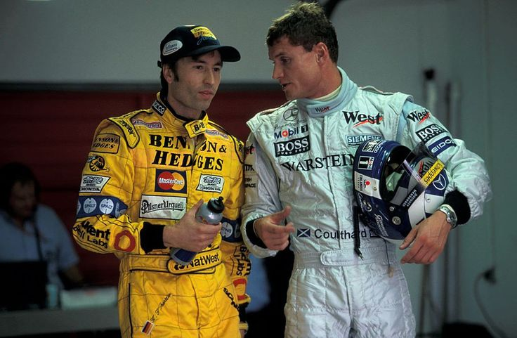 H.-H. Frentzen and D. Coulthard (Europe 1999)