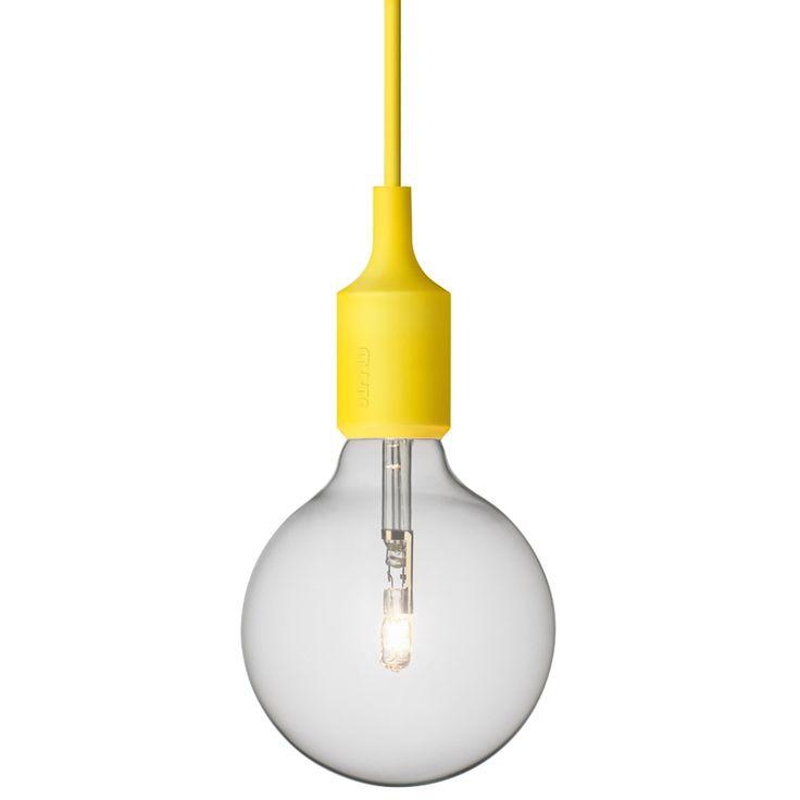 E27 lampe, gul i gruppen Belysning / Lamper / Taklamper hos ROOM21.no (101160)