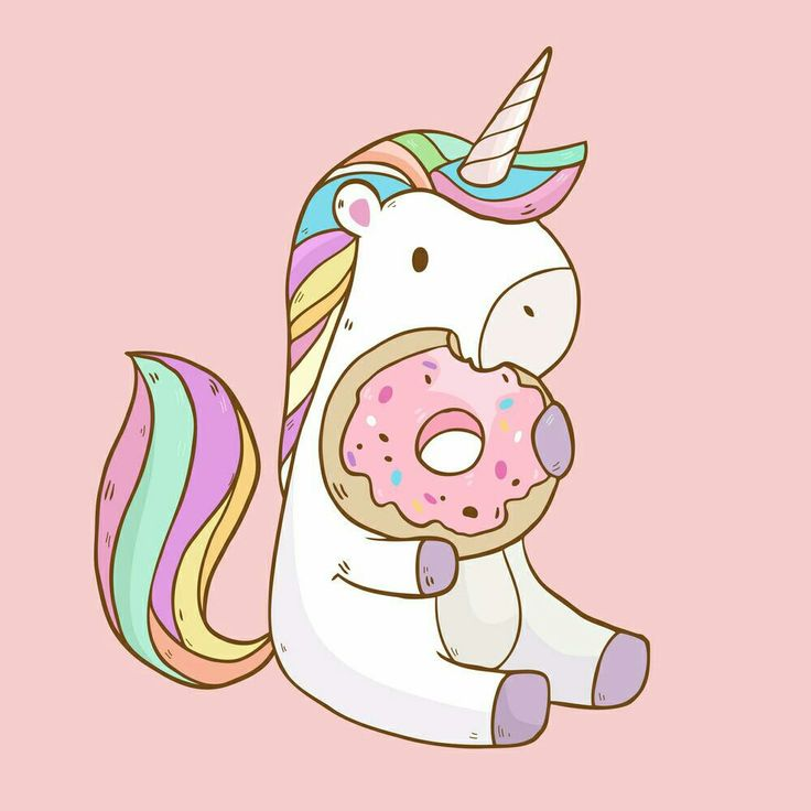 So it's are yum...right choice lil' unicorn