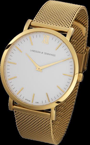 Gold Chain Metal Watch | Larsson & Jennings