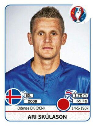 Ari Skúlason - ISLANDIA - EURO 2016