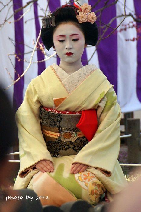 芸妓さんと舞妓さんのブログ (Baikasai 2015: maiko Ichimari as a host of a tea...)