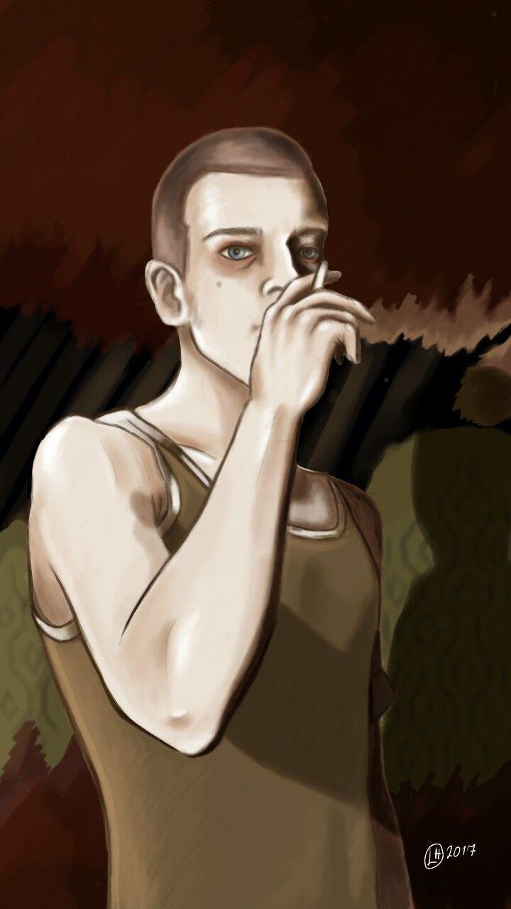 "Trainspotting fanart ""who needs reasons when you've got heroin?"" #trainspotting #drawing #ewanmcgregor #markrenton"