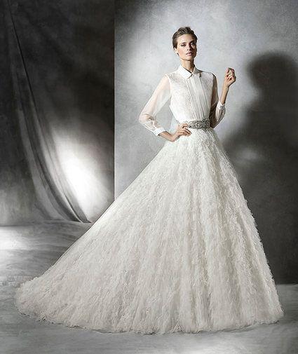 Горячий тренд: двухкомпонентный свадебный наряд-22
