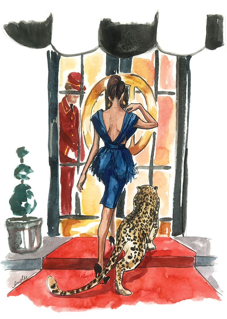 Inslee.net fashion illustrations you can buy in adorable mini calendars, individuals prints or full-sized calendars.