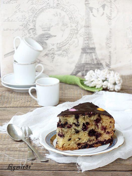 Пирог с ежевикой в мультиварке - Мой журнал