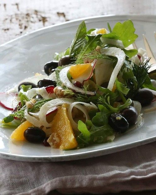 Fennel and orange salad | Versatile Vegetables, Spices, Fruits, Eggs ...