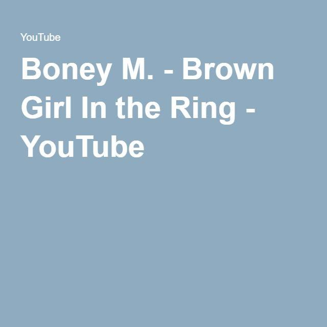 Boney M Brown Girl In The Ring Lyrics