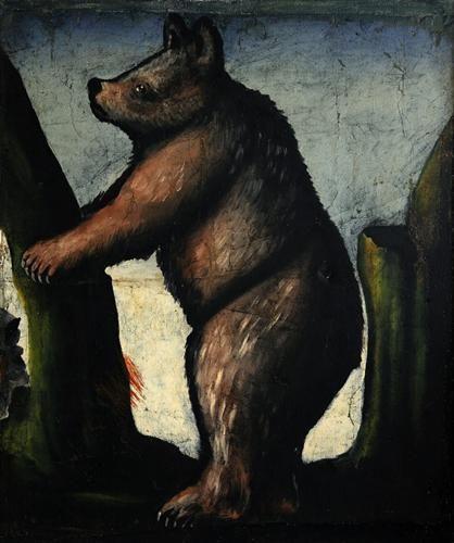 Bear cub - Niko Pirosmani