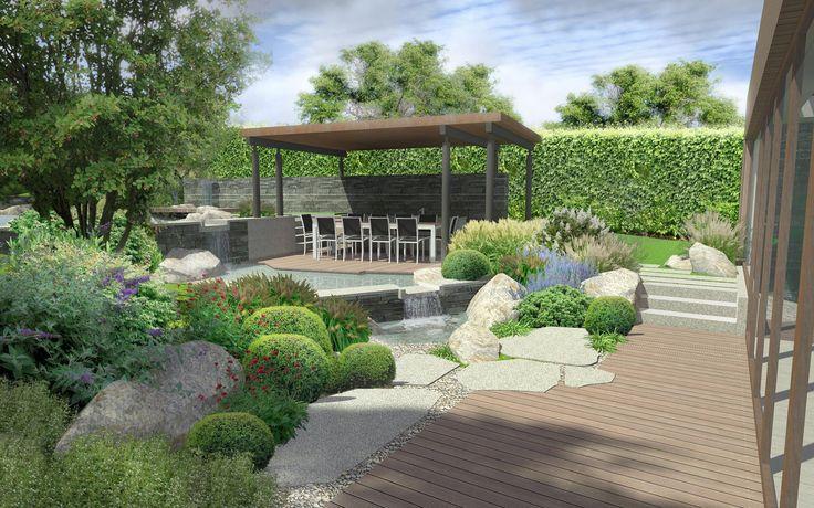 Atelier Schlitz:  posezení v zahradě / seating area in the garden