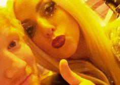 Lady Gaga le muestra su amor a Ed Sheeran tras abandonar Twitter