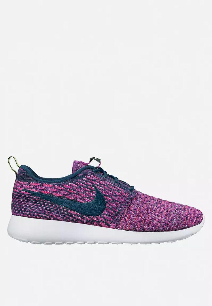 Nike Roshe One Flyknit – Dark Atomic Teal / Vivid Purple / Fuchsia Glow