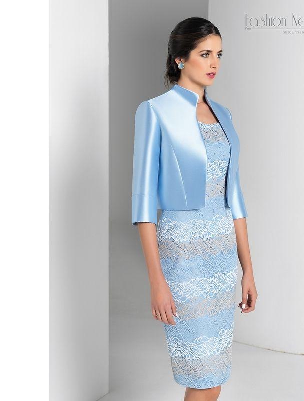 d1d06f229 Robe courte tailleur, robe tailleur, cocktail, tailleur cérémonie ...