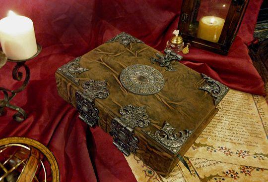 Book of Shadows | Brahm's Bookworks, Grimoire, medieval book