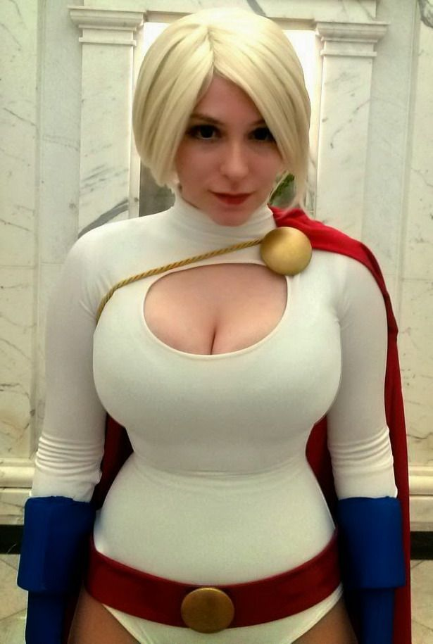The best Busty supergirl woman ihre