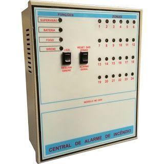 Net Placa Sinalização: Central de Alarme Incêndio Para facilitar na hora ...