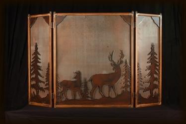 16 best fireplace screens images on pinterest fire Antique Oak Fireplace Oak Burning Fireplace