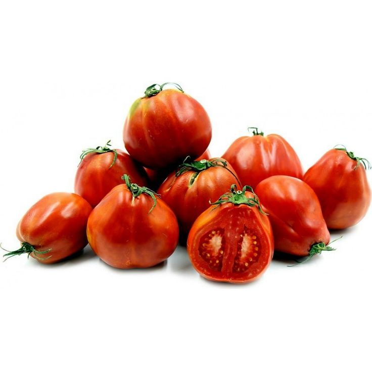 Heirloom RED PEAR PIRIFORM Tomato Seeds  2,45€  Heirloom RED PEAR PIRIFORM Tomato Seeds Price for Package of 10 seeds.   The Red Pear Piriform tomato is medium sized, approximately seven to nine ounces, with overall reddish-orange colored skin that fades into green on the shoulders. As its name alludes, it is pear-shaped with slightly indented lobes. It has a meaty, juicy texture and sweet, rich flavors with moderate acid levels. The tomato plant is