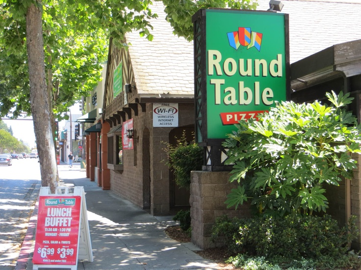 Get Coupons For The Very First Round Table Pizza Restaurant In Menlo Park California