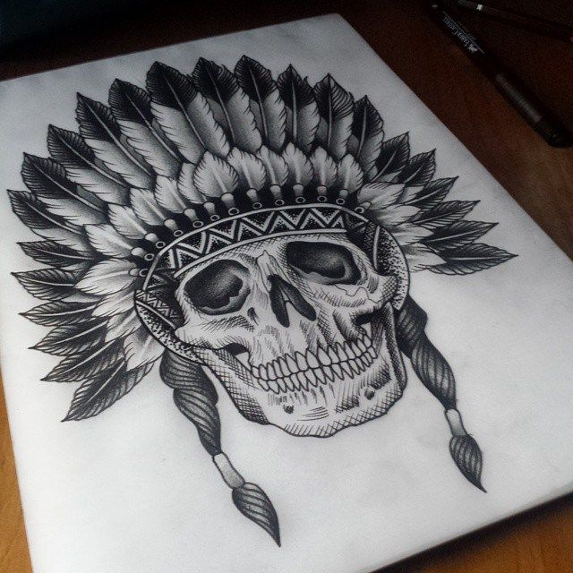 best 25 indian skull ideas on pinterest indian skull