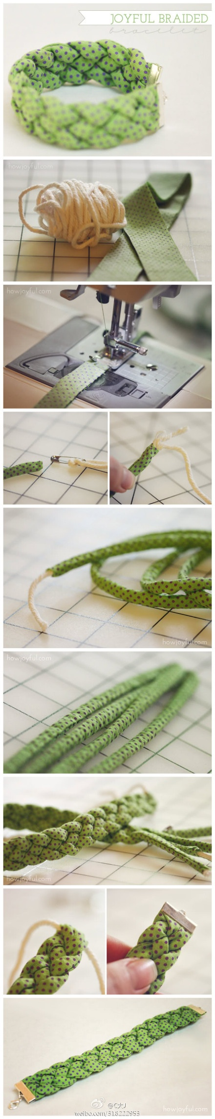 Oh Yes Please! Fabric Braiding