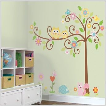 room..: Idea, Girls Room, Wall Decal, Baby Rooms, Kids Rooms, Girl Rooms