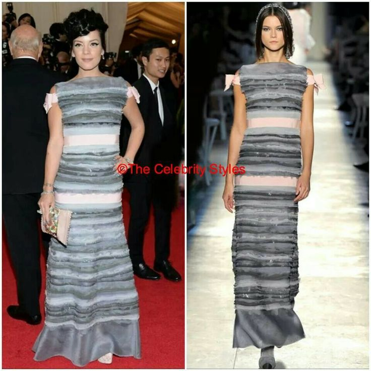 YOU CANNOT MISS IT - [Met Gala] : Lily Allen in CHANEL2012 FW to the Met Gala in NY on 5th April! #MetGala #LilyAllen #Chanel #NYC #Fashion