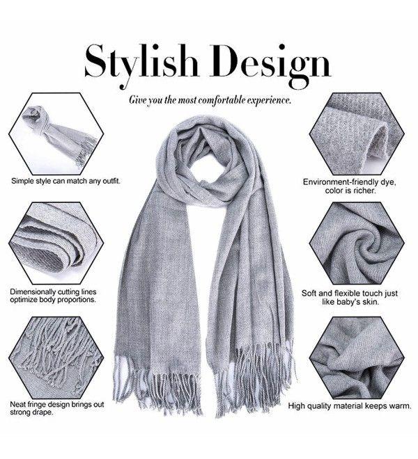 fashion  Men/'s Winter black 100/% Cashmere Pashmina Solid Neck Tassel Soft Scarf