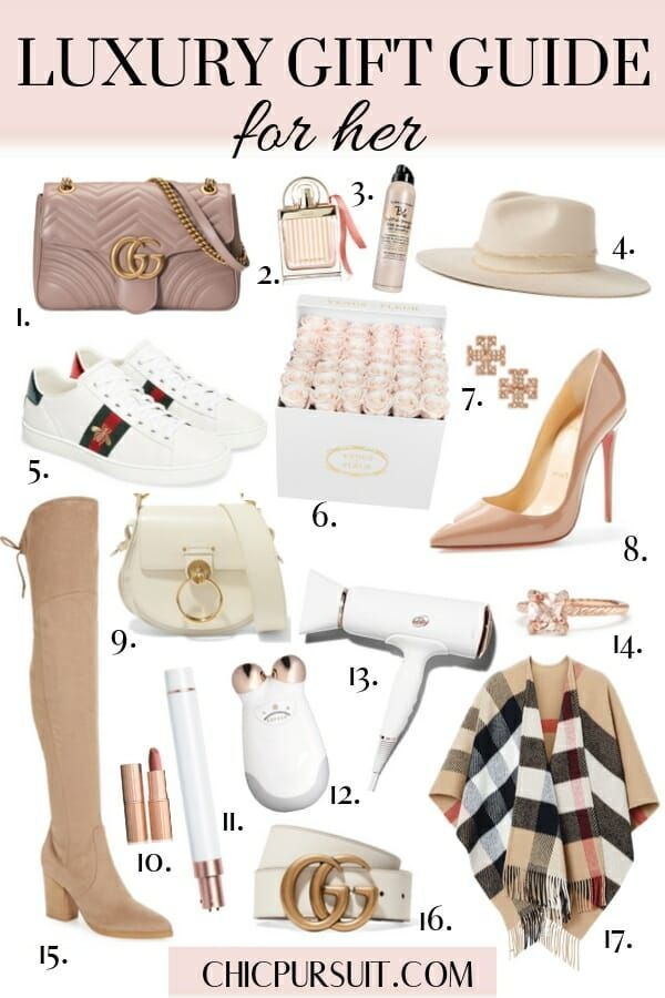 30 Best Luxury Christmas Gift Ideas For Her Christmas Gift Guide In 2020 Luxury Gifts For Women Luxury Christmas Gifts Luxury Gift