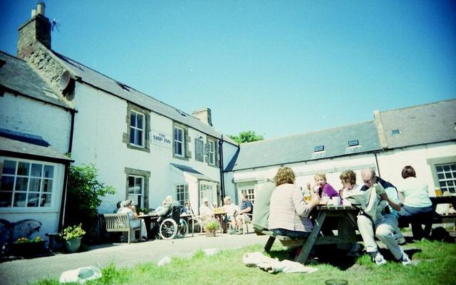 The Ship Inn, Low Newton by Sea, Alnwick, Northumberland,