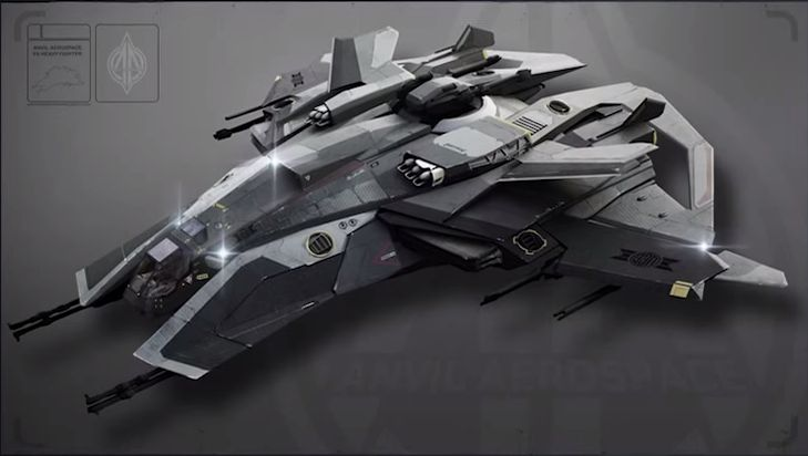 F8 Lightning Heavy Fighter - Star Citizen Wiki - Wikia