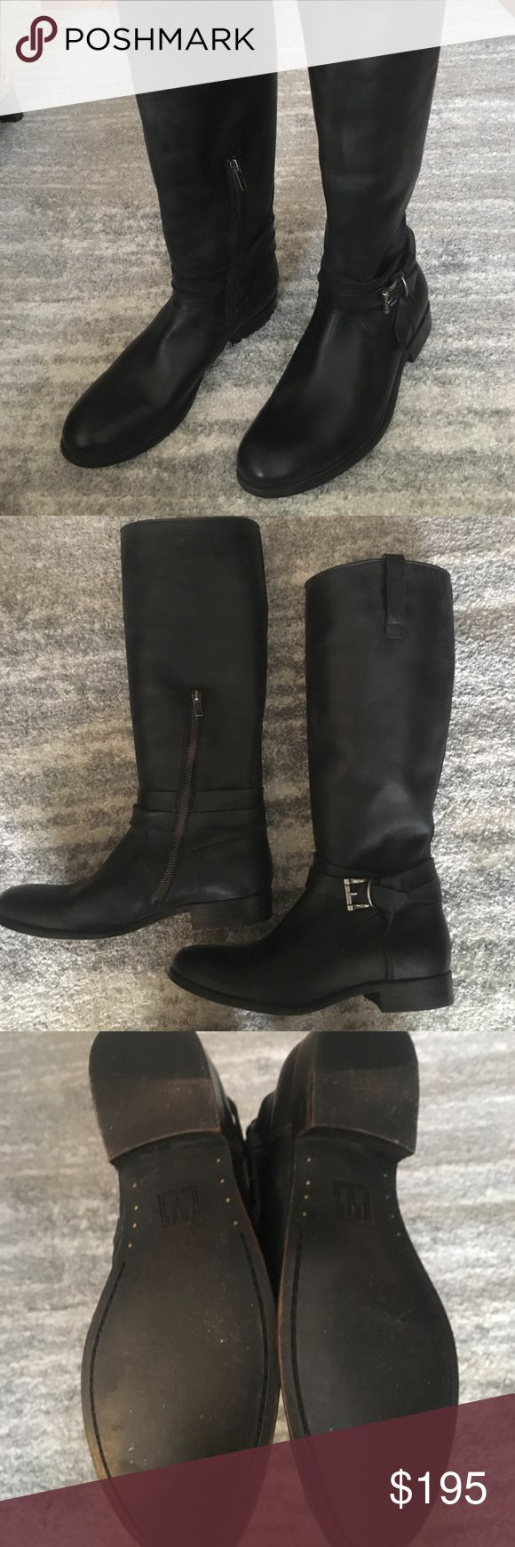 Never worn Frye riding boots Size 10 Frye riding boots - never worn!! Style is meant to be distressed and runs true to size Frye Shoes Combat & Moto Boots