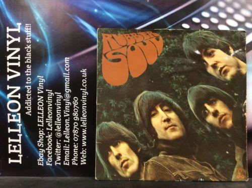 The Beatles Rubber Soul LP Vinyl PMC1267 XEX580-4/XEX579-4 Pop 1965 Parlophone Music:Records:Albums/ LPs:Pop & Beat: 1960s:The Beatles
