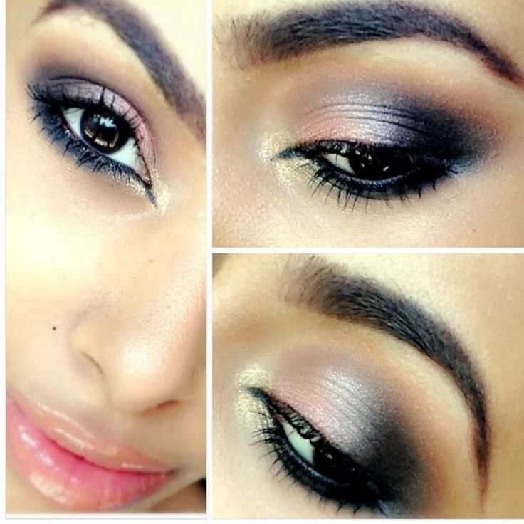 A great eye look for date night.