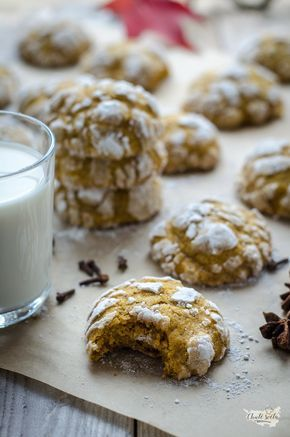 měkké dýňové cookies