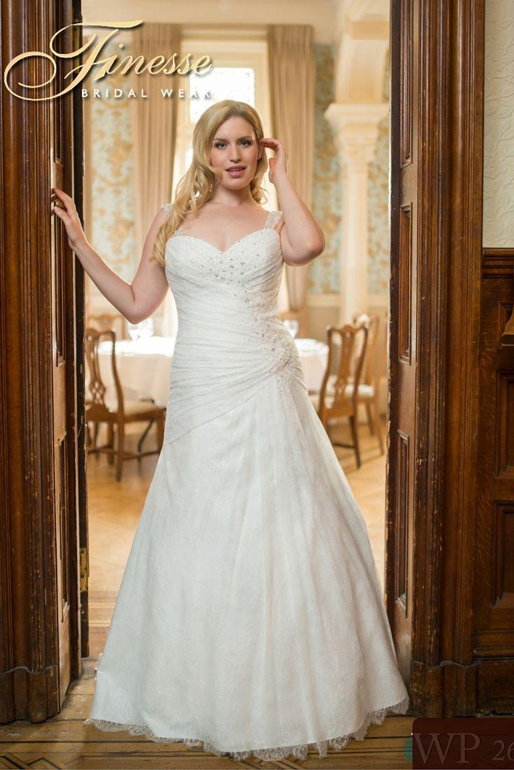 a flattering wedding gown from finesse bridal wear in listowel co kerry largerweddingdress