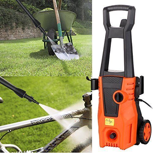 Portable Cleaner Electric Pressure Washer Hose Nozzle & Soap 1800PSI 14.5amp NEW #CleanerElectricPressureWasher