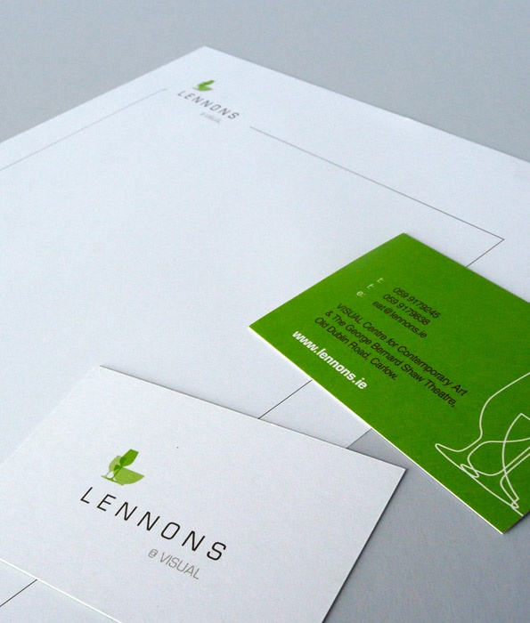 Lennons @ VISUAL - Corporate Identity