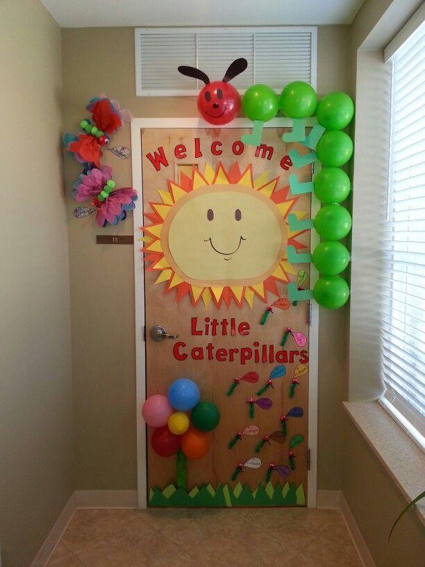 Classroom Door Decoration For Preschool ~ Best caterpillar bulletin board ideas on pinterest