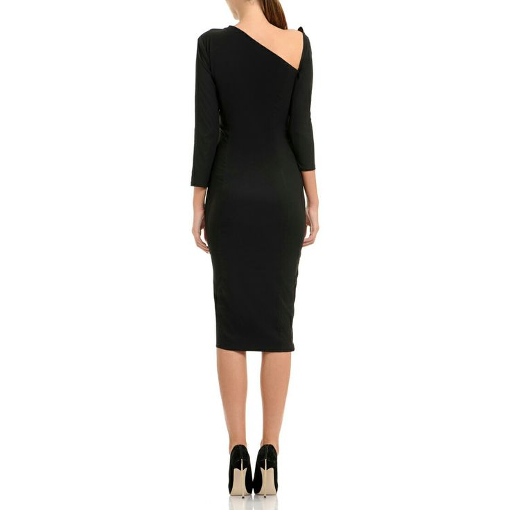 #Vcut-off #Silk #Satin #Dress