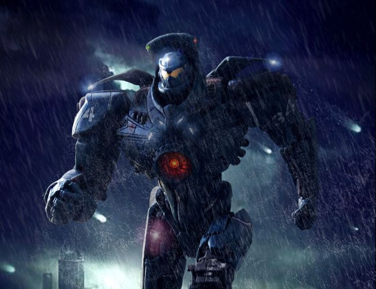 GIPSY DANGER by Pacific Shatterdome. IG: pacific_shatterdome.