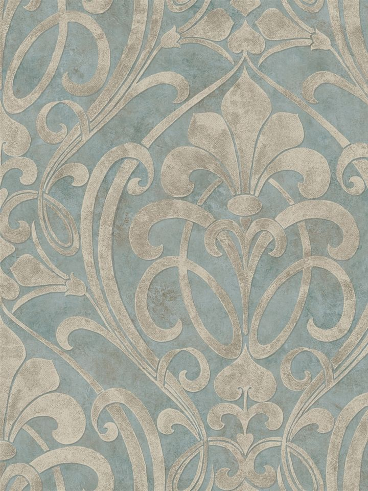 Coco Damask adds a great touch of color to any room!