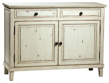 Soren Sideboard, Distressed Gray transitional-buffets-and-sideboards