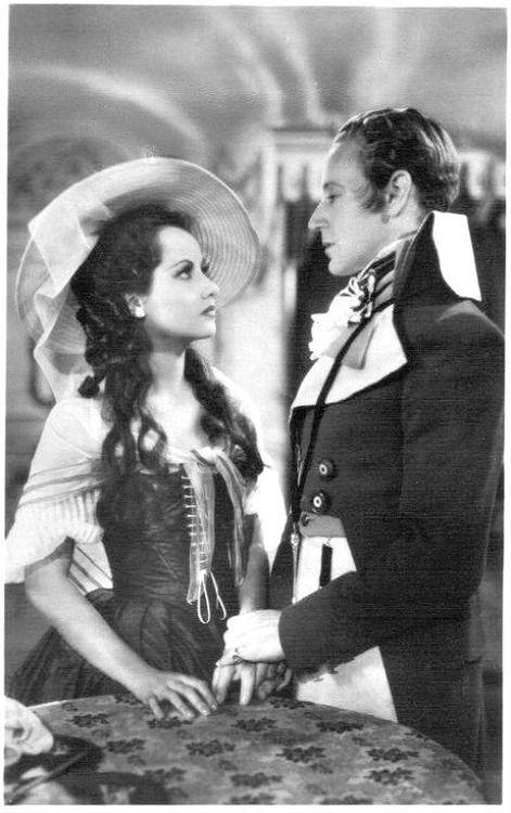 The Scarlet Pimpernel - 1934. Starring Merle Oberon & Leslie Howard.