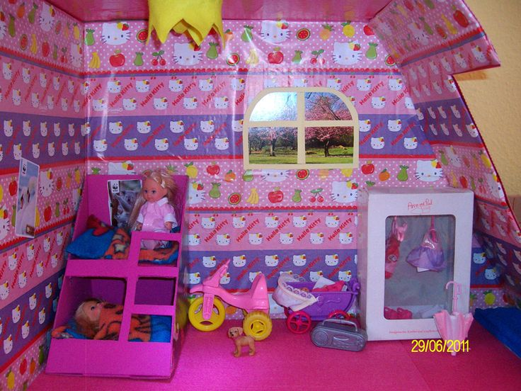 ber ideen zu barbiehaus auf pinterest barbie. Black Bedroom Furniture Sets. Home Design Ideas