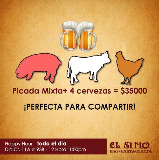 #picadamixta, #cerveza