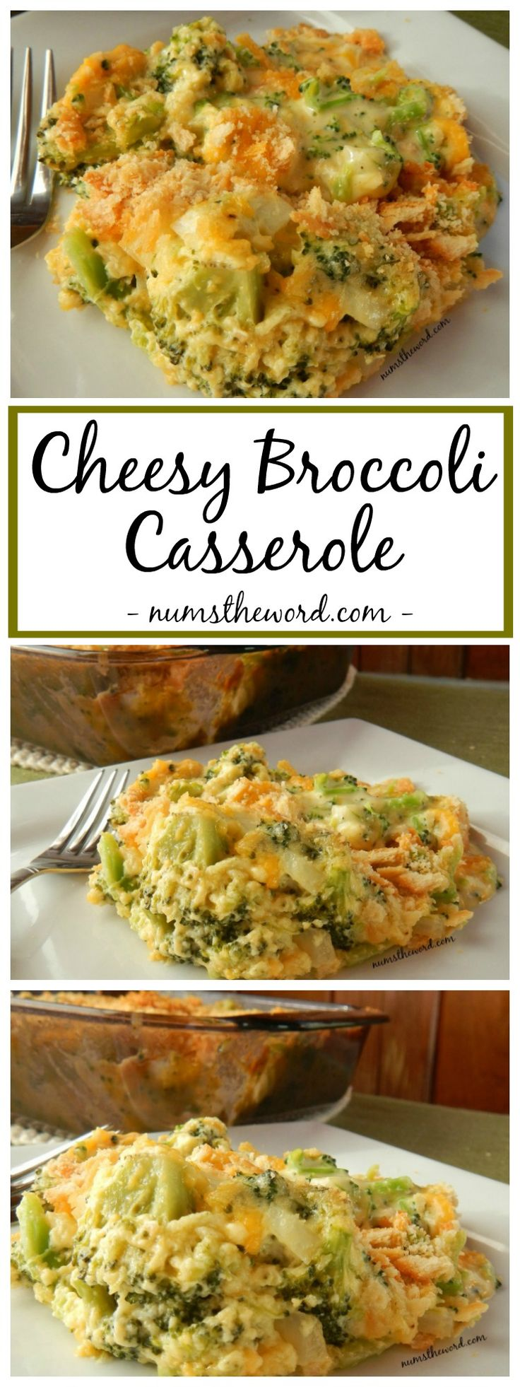 Cheesy Broccoli Casserole is the perfect side dish to any meal. Easy to prepare, tastes delicious and is a crowd pleaser! A family favorite recipe!